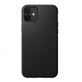 Nomad Rugged Leather Case iPhone 12 Mini zwart