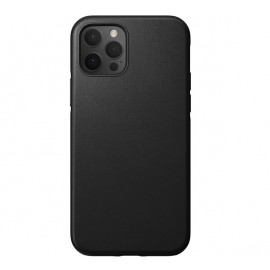 Nomad Rugged Leather Case iPhone 12 Pro Max zwart