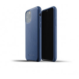 Mujjo Leather Case iPhone 11 Pro blauw