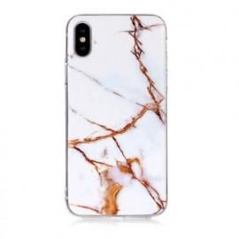 Casecentive Slim Hardcase Marble iPhone X / XS wit