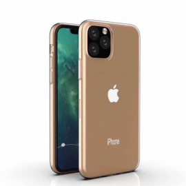 Casecentive Clear silicone Slim case iPhone 11