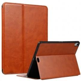 Casecentive Folio Leren Wallet case iPad Pro 11 inch bruin
