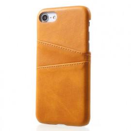 Casecentive Leren Wallet - Cover per iPhone 7 / 8 / SE 2020 - Marrone chiaro