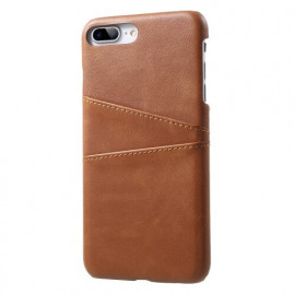 Casecentive Leren Wallet back case iPhone 7 / 8 plus bruin