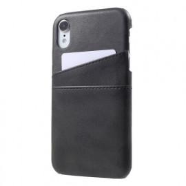 Casecentive Leren Wallet - Cover per iPhone XR - Nera