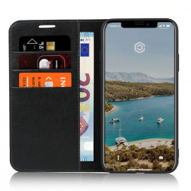 Casecentive Leren Wallet Luxe - Cover iPhone 11 Pro Max - Nero