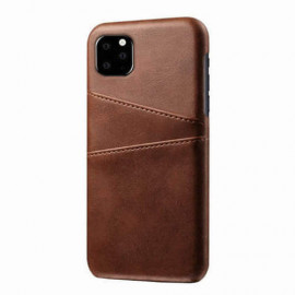 Casecentive Leren Wallet back case iPhone 11 Pro bruin
