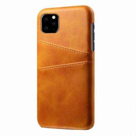 Casecentive Leren Wallet - Cover per iPhone 11 Pro - Marrone chiaro