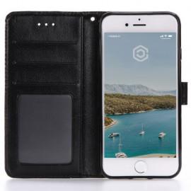 Casecentive Leren Wallet - Cover iPhone 7 / 8 / SE 2020 - Nera