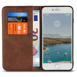 Casecentive Leren Wallet - Cover iPhone 7 / 8 / SE 2020 - Marrone