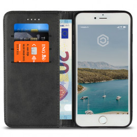 Casecentive Leren Wallet - Cover iPhone 7 / 8 Plus - Nera