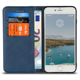 Casecentive Leren Wallet - Cover iPhone 7 / 8 Plus - Blu