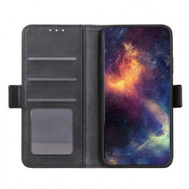 Casecentive Magnetische Leren Wallet case Galaxy S20 Plus zwart