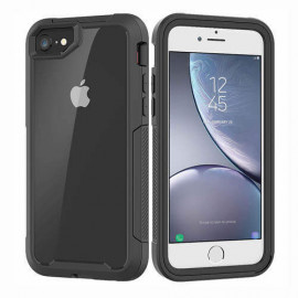 Casecentive Shockproof case iPhone 6(S) / 7 / 8 / SE 2020 clear