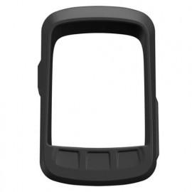 Casecentive Silicone hoesje Wahoo ELEMNT BOLT met screenprotector zwart