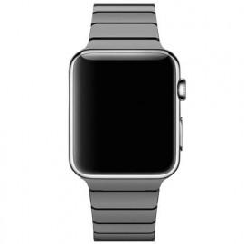 Casecentive - Cinturino Slim in Acciaio per Apple Watch 42 / 44 mm - Nero