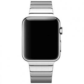 Casecentive - Cinturino Slim in Acciaio per Apple Watch 42 / 44 mm - Argento