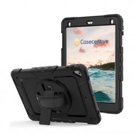 Casecentive Handstrap Pro Hardcase met handvat iPad 2017 / 2018 zwart