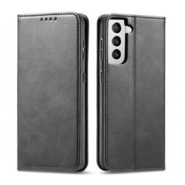 Casecentive Leren Wallet Luxe - Cover Samsung Galaxy S21 Plus - Nera