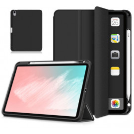 Casecentive Tri-fold - Case per iPad Air 2020 con portapenna - Nero