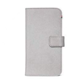 Decoded Leren Wallet Case iPhone 11 grijs