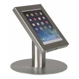 Securo Tafelstandaard, 7-8 inch voor iPad mini en Tablet RVS