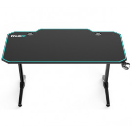 Fourze D1400 gaming desk groen / zwart