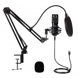 Gear4U - Microfono per streaming con supporto regolabile