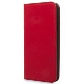 Knomo iPhone X / XS Premium Leather Folio Chili