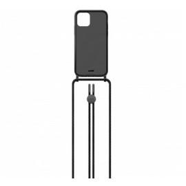 Laut Crystal-X case met koord iPhone 12 / iPhone 12 Pro zwart