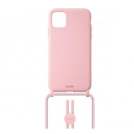 Laut Pastels case met koord iPhone 12 / iPhone 12 Pro candy