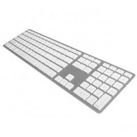 Matias Draadloos Toetsenbord QWERTY met Backlight voor MacBook zilver