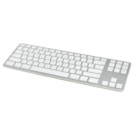 Matias Draadloos Toetsenbord QWERTY zonder Numpad voor MacBook zilver