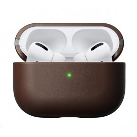 Nomad Airpods Pro Case Rustic Leather bruin
