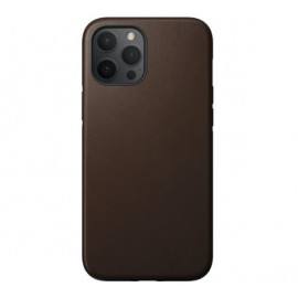 Nomad Rugged Leather Case iPhone 12 Pro Max bruin