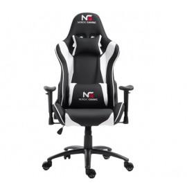 Nordic Gaming Racer - Sedia da gaming - Nera / Bianca