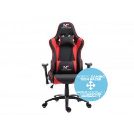 Nordic Gaming Teen Racer - Sedia da gaming - Nera / Rossa