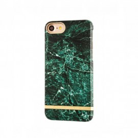 Richmond and Finch Marble Glossy iPhone 7 / 8 / SE 2020 groen