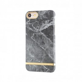 Richmond and Finch Marble Glossy iPhone 7 / 8 / SE 2020 grijs