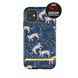 Richmond & Finch Freedom Series iPhone 12 / iPhone 12 Pro Blue Leopard