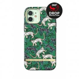 Richmond & Finch Freedom Series iPhone 12 Mini Green Leopard