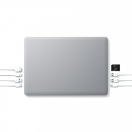 "Linedock 13"" + 20000mAh + 256GB SSD space gray"