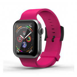 SuperDry siliconen band Apple Watch 38 / 40mm roze
