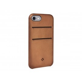 Twelve South Relaxed Leather pockets iPhone 7 / 8 / SE 2020 cognac