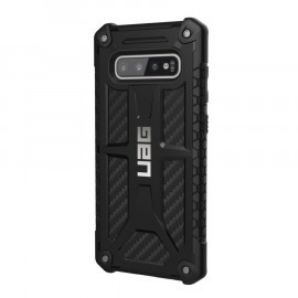 UAG Hard Case Galaxy S10 Plus Monarch Carbon zwart