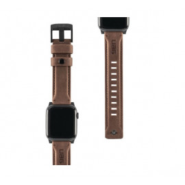 UAG Leather Watch strap 44 / 42 mm bruin