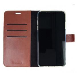 Valenta Booklet Leather Gel Skin iPhone 11 Pro Max bruin